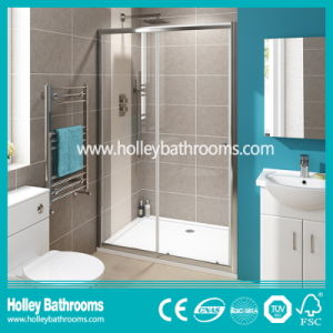 Rectangle Shower Sliding Door with Aluminium Alloy Frame (SE903C)