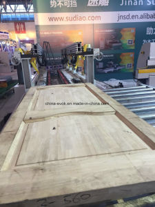 High Technology Wooden Door High Frequency Heating Frame Joint Machine Tc-60hf pictures & photos