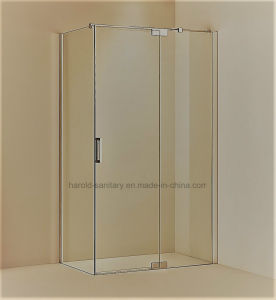 Hr-03 Pivot Hinge Open 8-10mm SGCC Tempered Glass Shower Screen pictures & photos