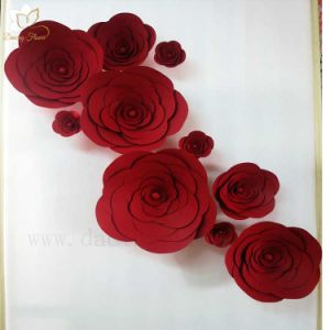 China colorful artificial card paper flower for home or wedding colorful artificial card paper flower for home or wedding decoration wfah 25 mightylinksfo
