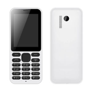 Spreadtrum 6531d Chip, 2.4 Inch Qvga Screen Cell Phone, with 0.3MP Camera Bar Phone