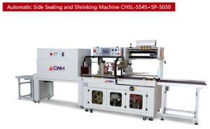 Automatic Side Sealing and Shrinking Machine for Notebook pictures & photos