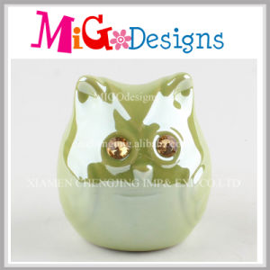 Electroplating Gold Cute Unicorn Ceramic Money Box pictures & photos