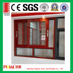 6mm Tempered Glass Aluminum Casement Window