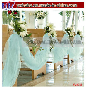 Wedding Decoration Prom Gown Robin′s Egg Blue Tulle 65yd (W1018) pictures & photos