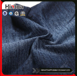 Knitted Cheap Denim Fabric for Jeans pictures & photos