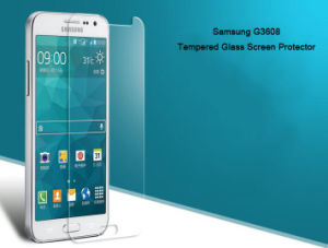 Super Shield 9h Tempered Glass Protective Film Screen Guard with Ultra Thin 0.1mm for Samsung G3608