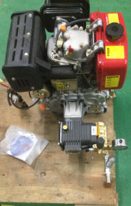 Diesel Engine Recoil Cold Water Pressure Washer, 4000psi, 3gpm