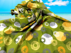 100%Polyester/Printed Pongee for Fitted Sheet/Bedding Fabric