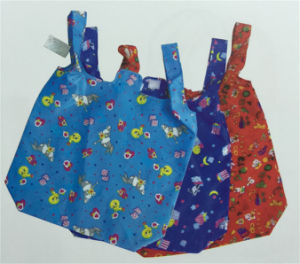 Colored Polyester Bag with Short Handle Yx-161