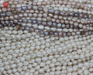 Nugget Natural Pearls Strands (ES353) pictures & photos
