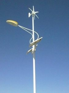Low Wind Small Wind Turbine for Finshing Boat pictures & photos