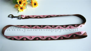 Paw Jacquard/High Quality/Durable/Eye-Catching Pet Leash