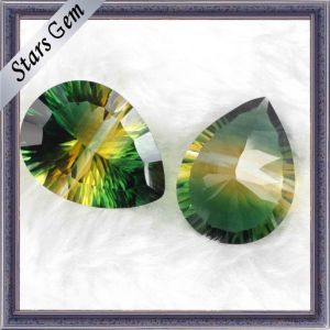 Special Pear Millennium Cut Synthetic Crystal pictures & photos