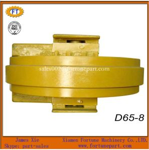 Komatsu Diggers Track Front Idler for Excavator Bulldozer Manufacture pictures & photos