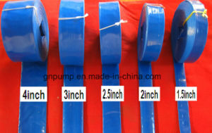 "6"" Inch Size Blue/Red/Green/Yellow Color Water Hose 150 pictures & photos"