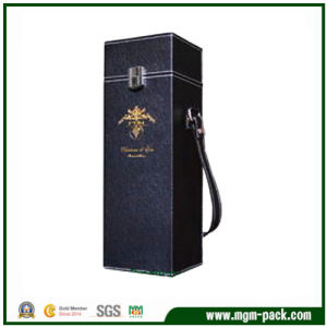 PU Leather Single Bottle Wine Box/Wine Case pictures & photos