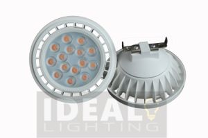 LED Spotlight AR111 18W 1500lm G53 AC/DC12V White Housing