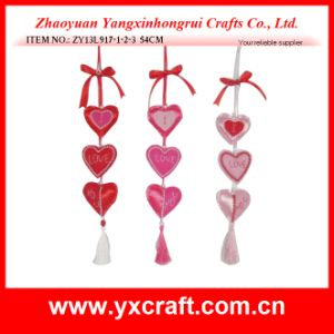 Valentine Decoration (ZY13L917-1-2-3) Hanging Love Decoration Valentine Products pictures & photos