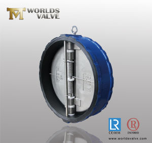 Full Rubber Coated Wafer Check Valve (H77X-10/16)