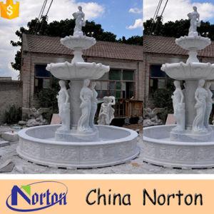 Large Outdoor Decoration Marble Italian Garden Fountain Ntmf F002a