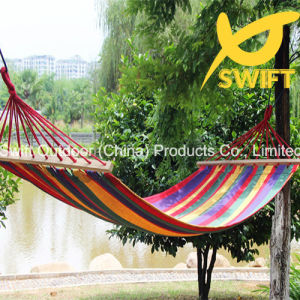 Rainbow Single Per Cotton Canvas Hammock