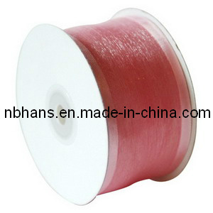100% Polyester Satin Organza Ribbon pictures & photos