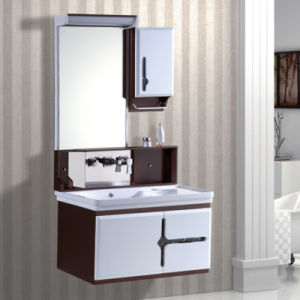 PVC Wall Mounted Bathroom Cabinet Sets with Storage pictures & photos