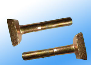 Square Head Zinc-Plated Track Bolt