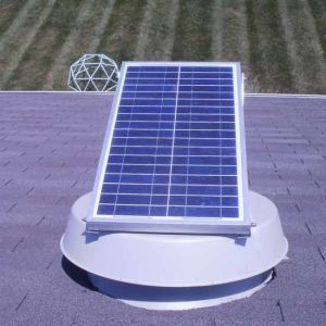 Solar Exhaust Fan with Brushless Motor pictures & photos