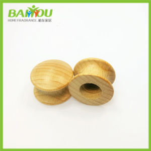 Customize Different Beech Car Perfume Wooden Cap pictures & photos