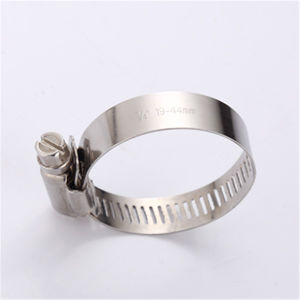 "1/2"" Band Stainless Steel American Type Hose Clamp pictures & photos"