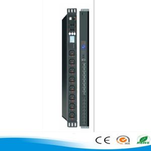 1u Power Distribution 6/8 Unit Rack Mount Smart PDU
