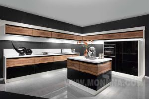 Wood Veneer Kitchen Cabinet Factory