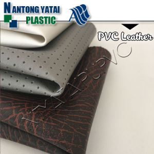 Auto Inner Upholstery PVC Faux Leather for Car/Bus/Truck Seat Cover
