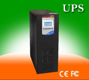 220V Single Phase Input & Ouput UPS 6kVA pictures & photos