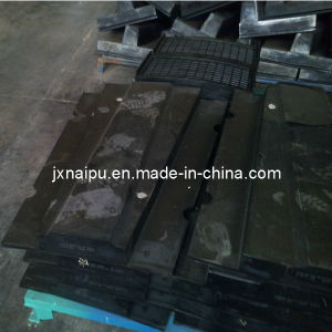 Semi-Auto Grinding Mill Liners Lifters Spare Parts