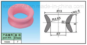 Ceramic Wire Guide Pulley (TC26-1) Ceramic Roller Bearing, Textile Guide Roller pictures & photos