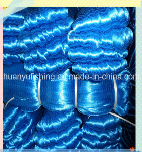Dark Blue Knitting Fishing Net