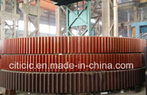 Cast Steel More Pieces Girth Gear Ring of Rotary Kiln or Rotary Dryer pictures & photos