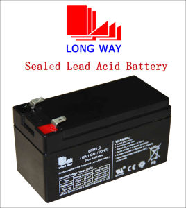 12V Emergency Lighting Systems UPS Sealed Lead Acid Battery pictures & photos