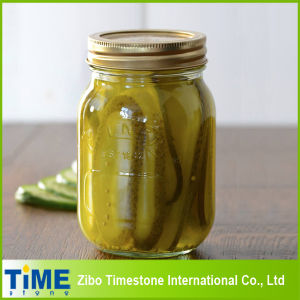 High Quality Glass Mason Jar for Canned Food (honey, jam, pickles) pictures & photos