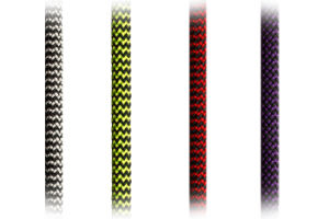 6mm Zebra (R006) Hmpe Rope for Dinghy-Main Halyard/Sheet-Jib/Genoa Halyard-Control Line