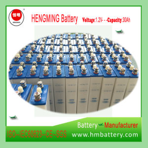 NiCd 1.2V 40ah Rechargeable Battery Pack for Switchgear pictures & photos