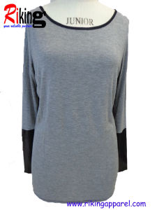 Fashion Womens Long Sleeve T- Shirts (RKT1307)