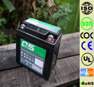 YT3L YB3L (12N3 YB3L) 12V3AH High Starting Performance AGM Sealed maintenance free lead acid motorcycle battery pictures & photos