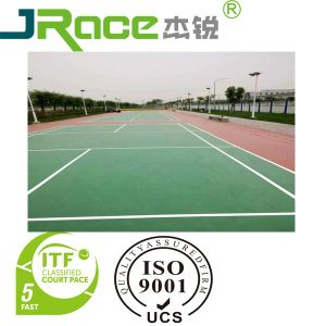 China Comfortable And High Quality Spu Outdoor Badminton Court Paint