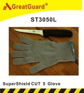 Supershield White Cut 5 Glove (ST3050L) pictures & photos