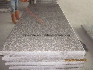 Cheap Price G664 Red Granite Tombstone for Poland Market