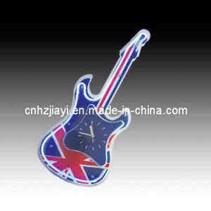 UK British Flag Guitar Neon Clock Sign (JYD-705)
